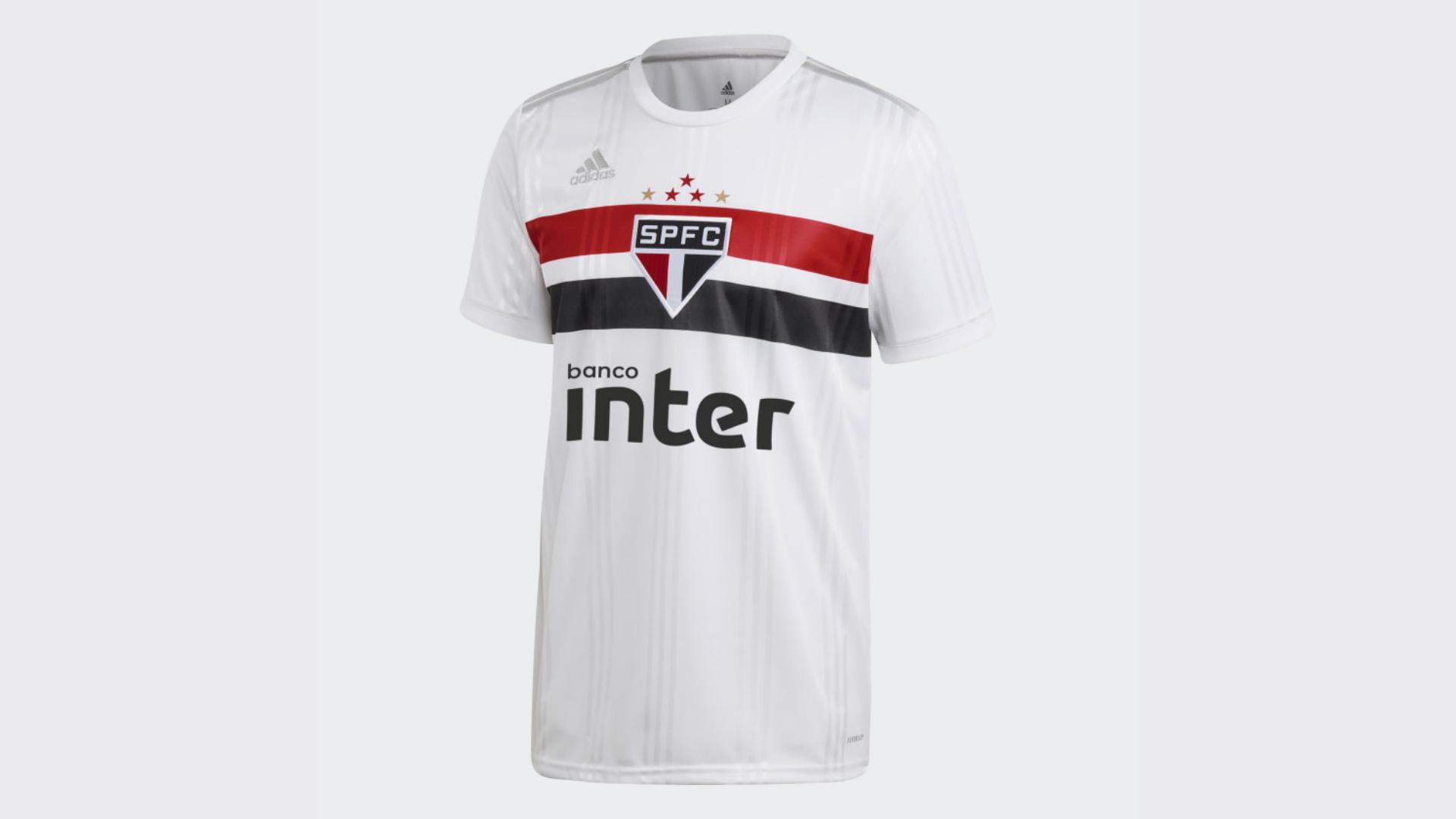 Camisa do São Paulo 2020 Adidas Jogo 1 (Imagem: Divulgação/Adidas)