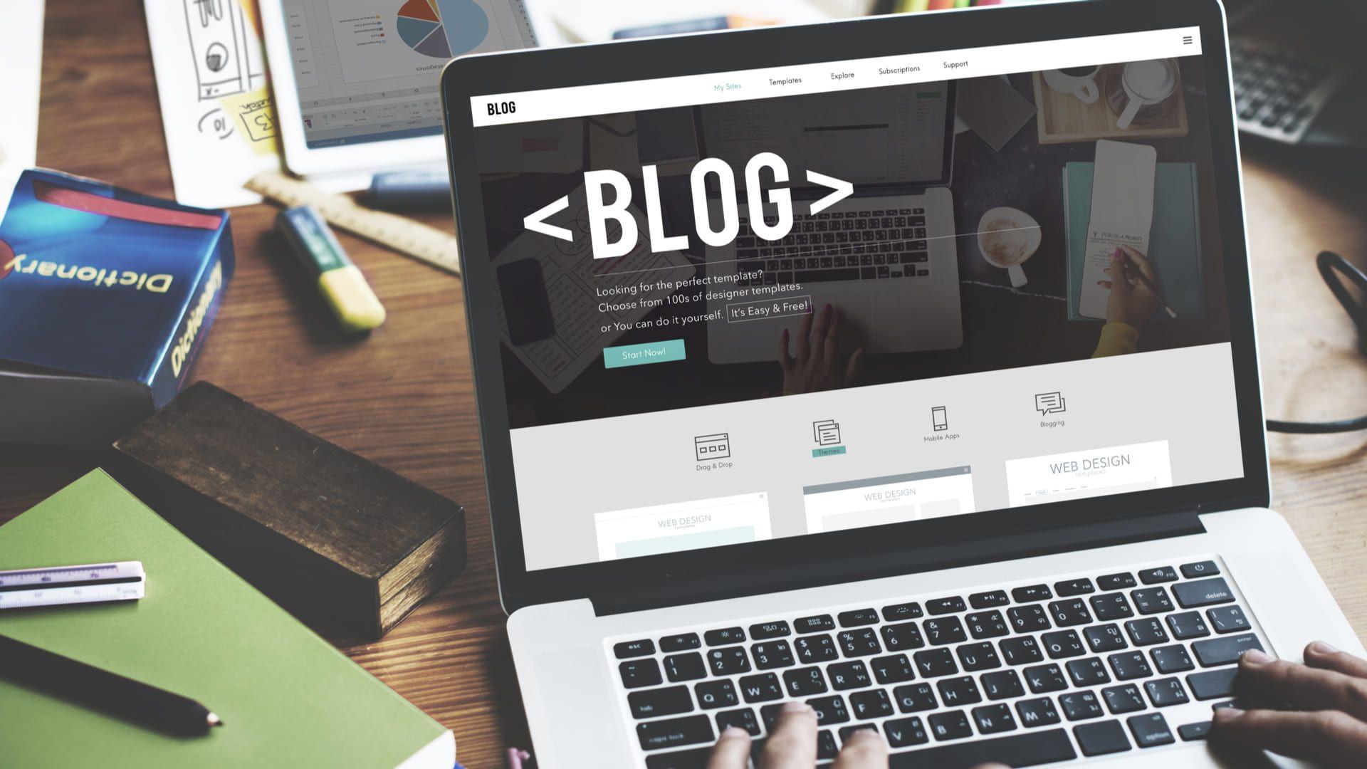 Veja como criar um blog (Foto: Shutterstock)
