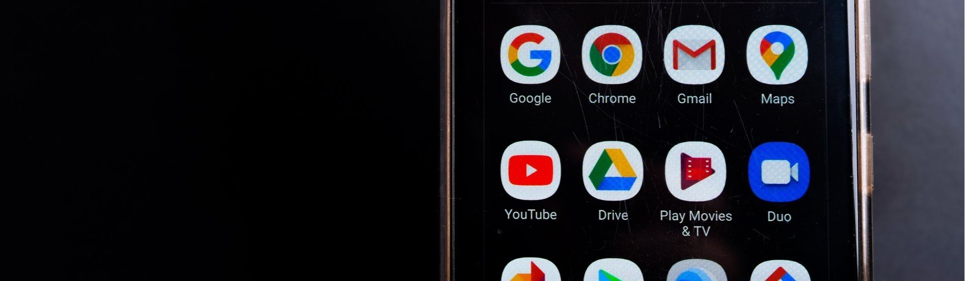Como deixar o Google preto
