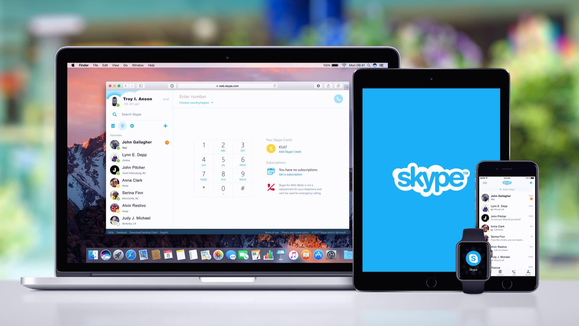 """O <a href=""""https://www.skype.com/pt-br/"""">Skype</a> é uma ferramenta de comunicação da Microsoft (Foto:Reprodução/Shutterstock)"""