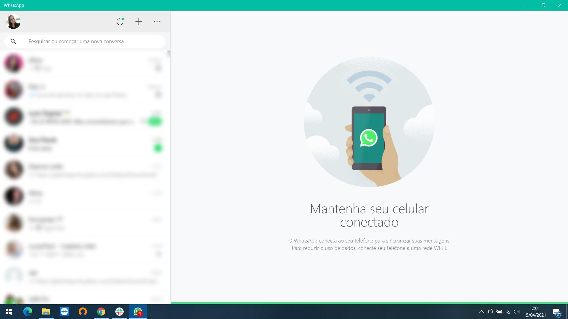 Como instalar o WhatsApp no PC: aplicativo pode ser instalado no Windows ou macOS (Foto: Reprodução/Zoom)