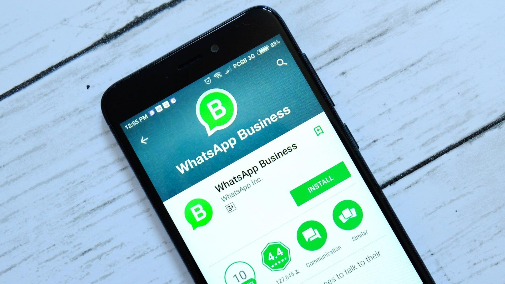 Como instalar o WhatsApp: versão Business tem recursos exclusivos para empresas (Foto: Shutterstock)