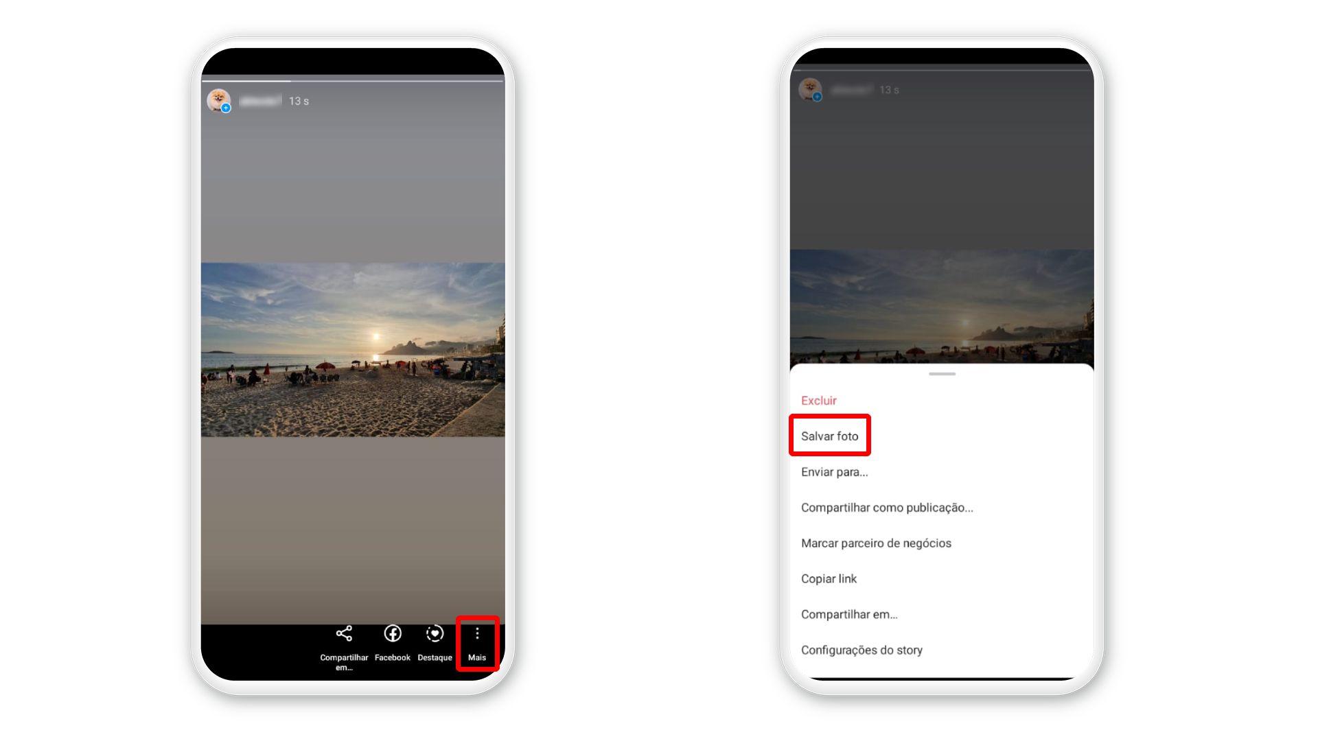 Como salvar Stories do Instagram no próprio perfil: procedimento pode ser feito depois que a foto foi publicada (Foto: Arte/Zoom)