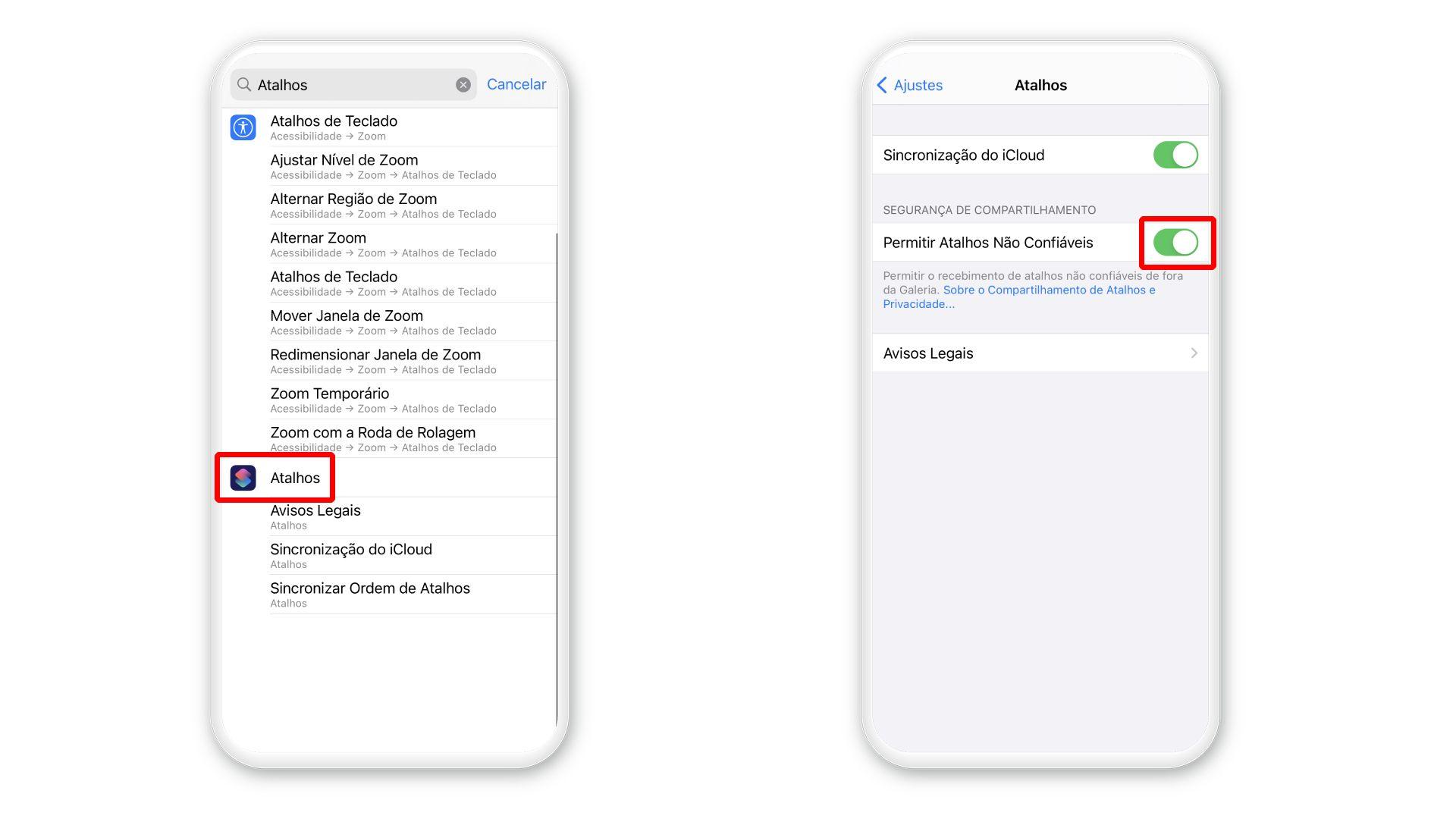 Como salvar Stories do Instagram no iPhone: ative a opção para adicionar atalhos (Foto: Arte/Zoom)