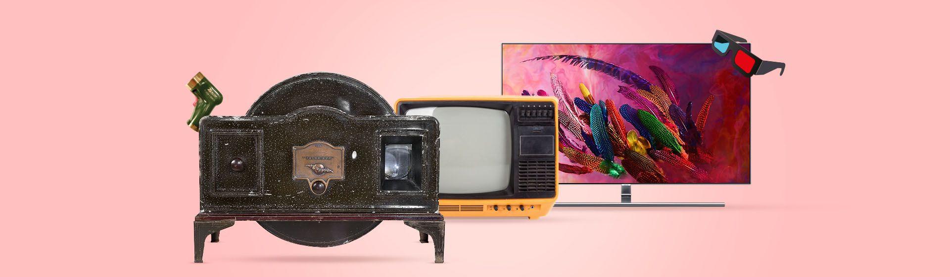 A evolução da televisão: o que mudou em quase um século?
