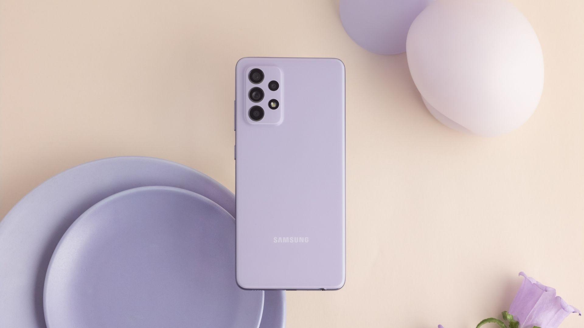 Galaxy A52 tem câmera traseira principal de 64 MP (Foto: Divulgação/Samsung)