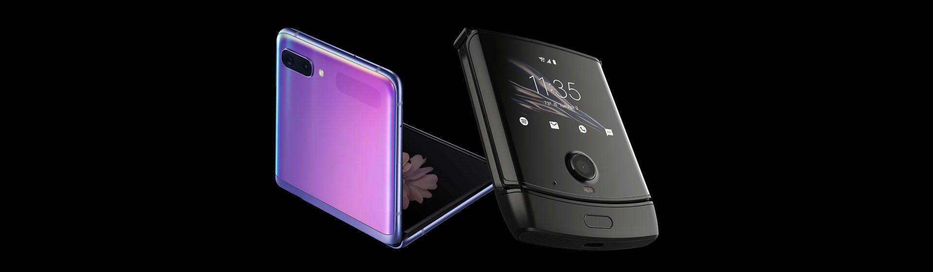 Galaxy Z Flip vs Motorola RAZR: qual é o melhor celular dobrável?