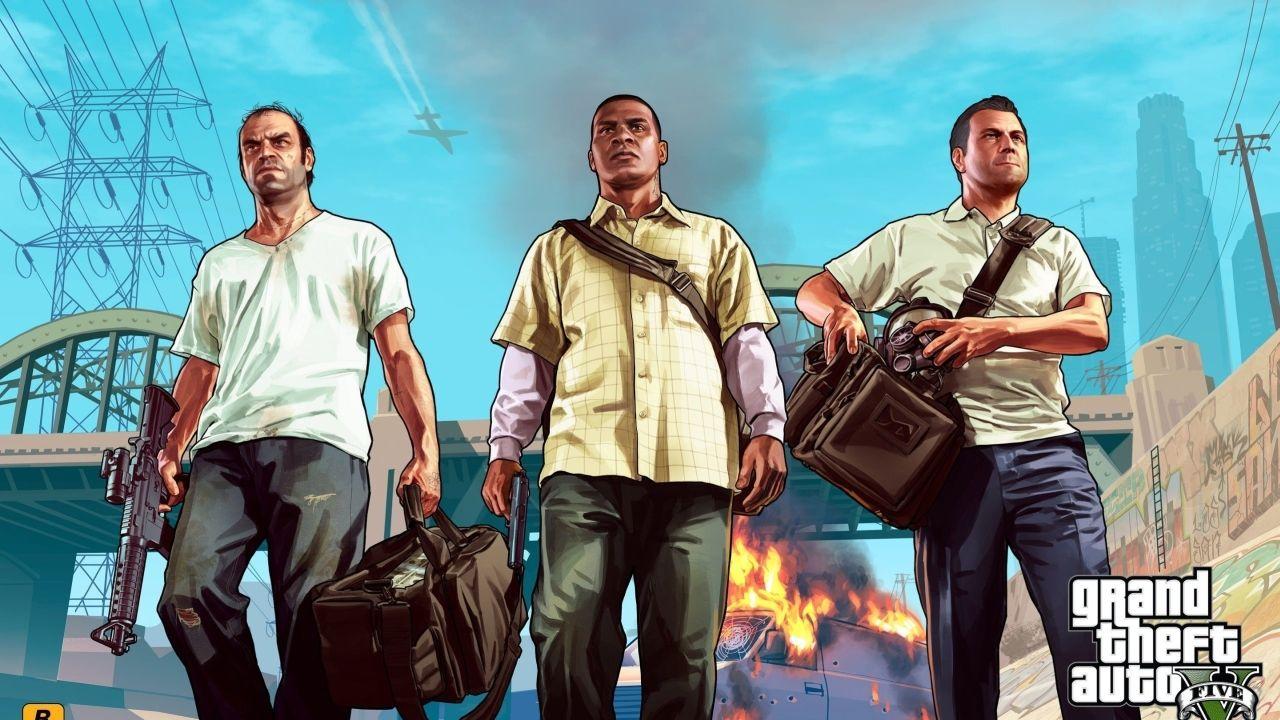GTA V: The Game (Foto: Divulgação/Rockstar)