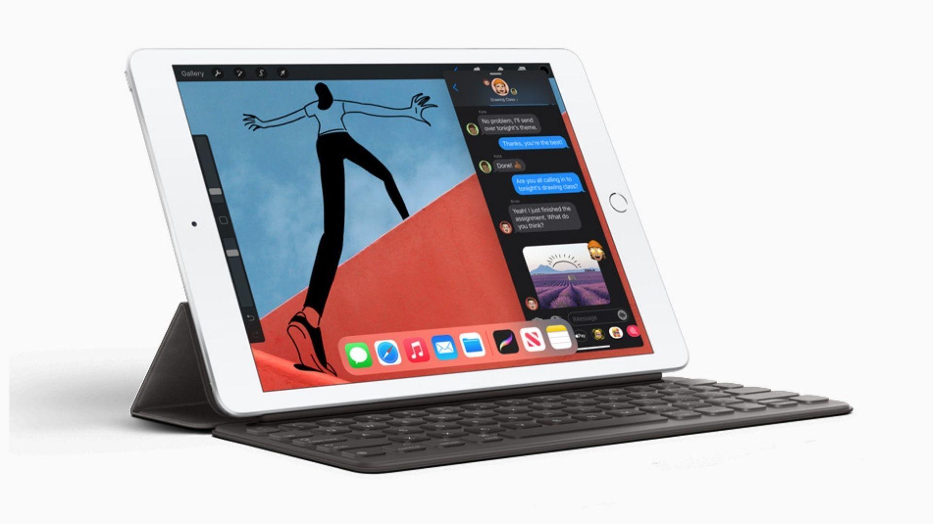 iPad 8ª Geração 128 GB e 32 GB foram as opções lançadas pela Apple (Foto: Divulgação / Apple)