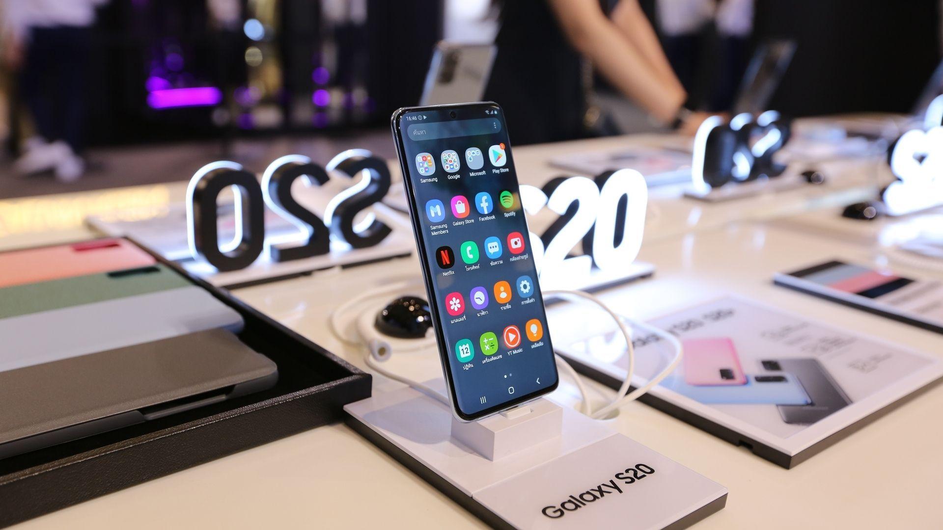 Linha Galaxy S20 foi lançada em 2020 pela Samsung (Foto: junior_cinematic/Shutterstock)