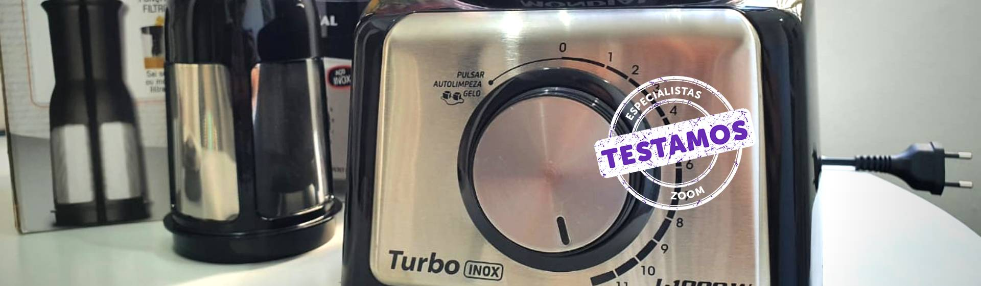 Liquidificador Mondial Turbo Inox L-1000: alta potência e bom custo-benefício