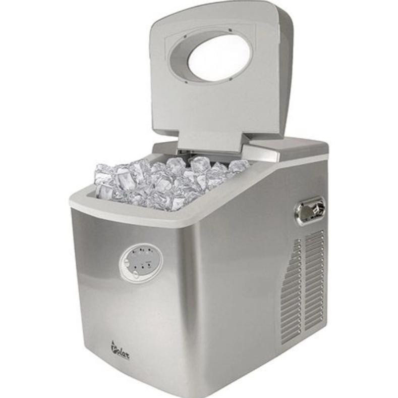 Com essa máquina de gelo Polar você consegue até 22kg de gelo por dia