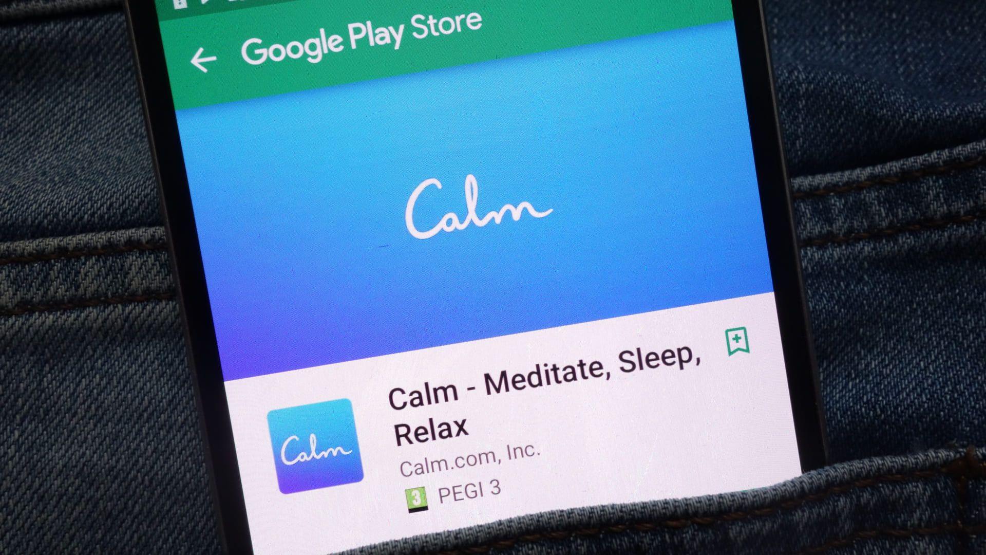 Meditação guiada: Calm (Foto: Shutterstock)