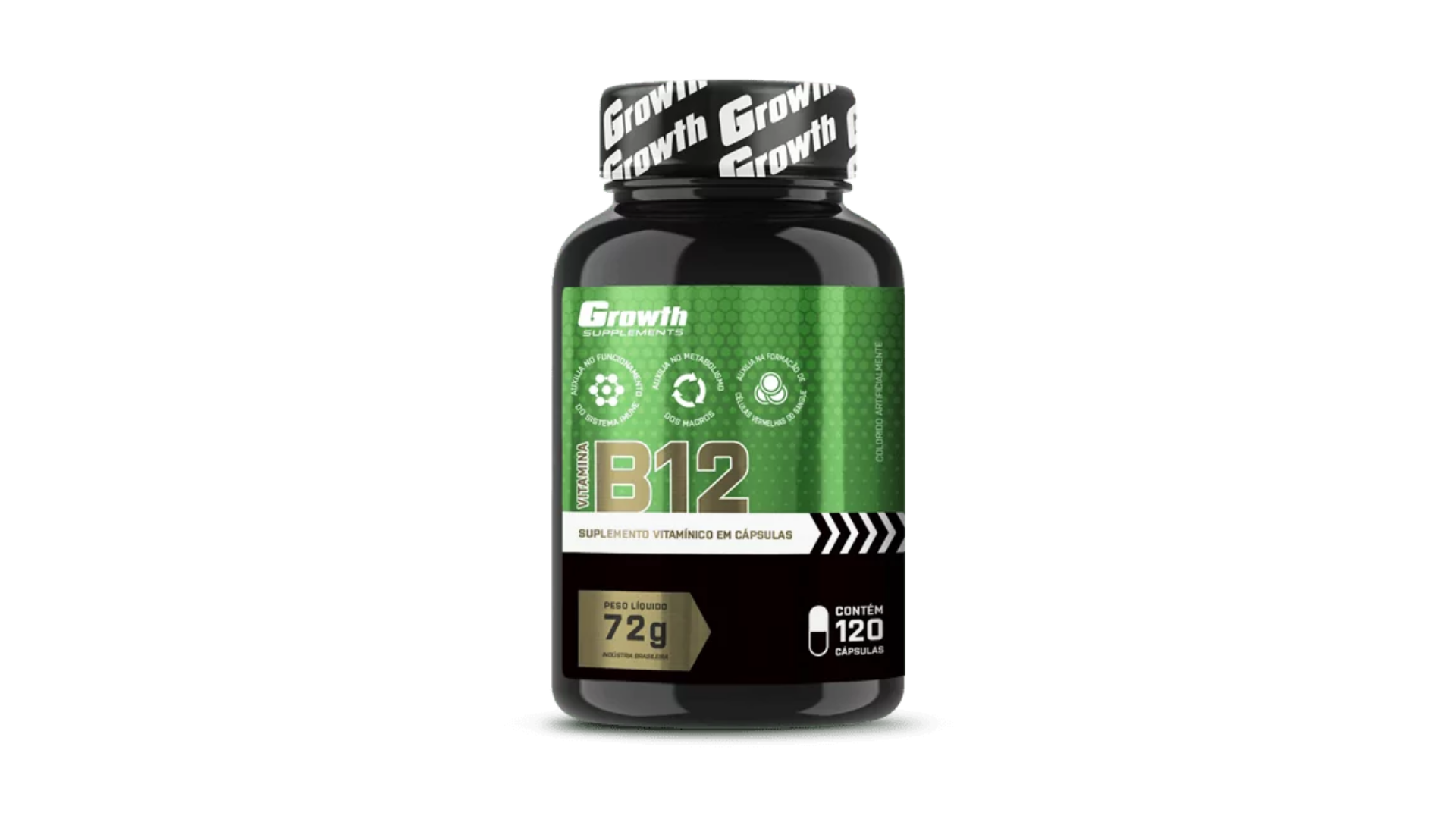 Vitamina B12 Growth (Imagem: Divulgação/Growth)