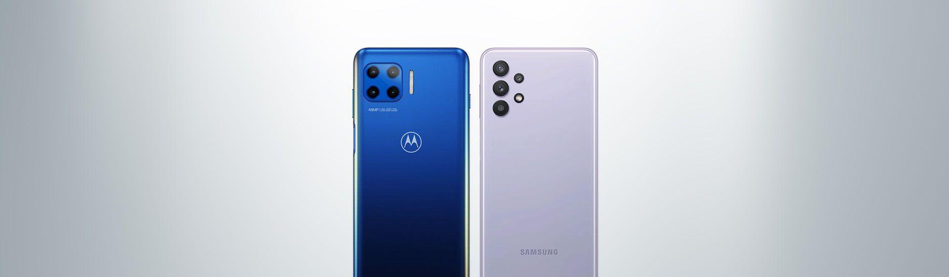 Moto G 5G Plus vs Galaxy A32 5G: comparamos o Motorola e o Samsung