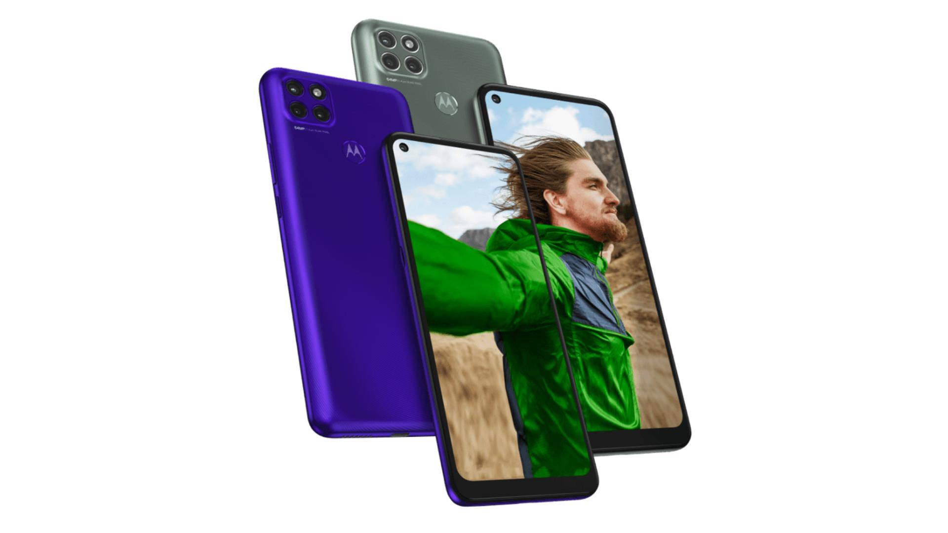 Moto G9 Plus e Moto G9 Power possuem 128GB, espaço suficiente para fotos, filmes, músicas, aplicativos e jogos. (Imagem: Moto G9 Power/Divulgação/ Motorola)