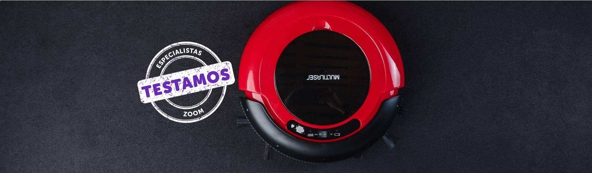 Aspirador robô Multilaser HO041: boa bateria, mas reservatório pequeno