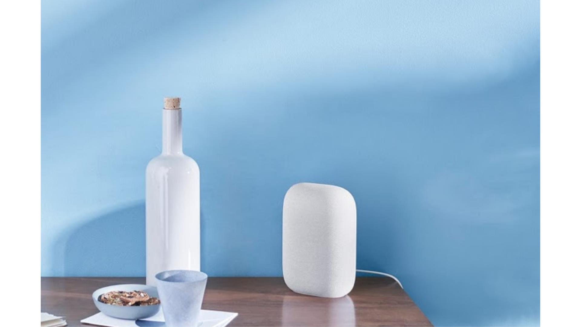 Google lança novo smart speaker no Brasil, o Nest Audio. (Imagem: Divulgação/Google)