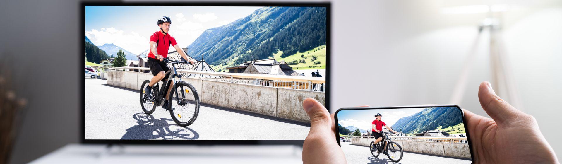 Como passar vídeo do celular para TV?