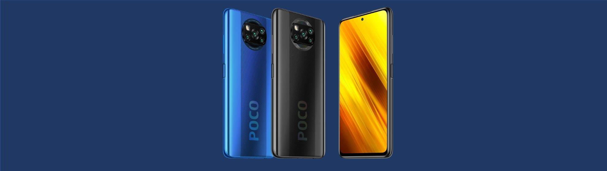 Poco X3 vs Poco X3 NFC vs Poco X3 Pro: veja as diferenças dos Xiaomi