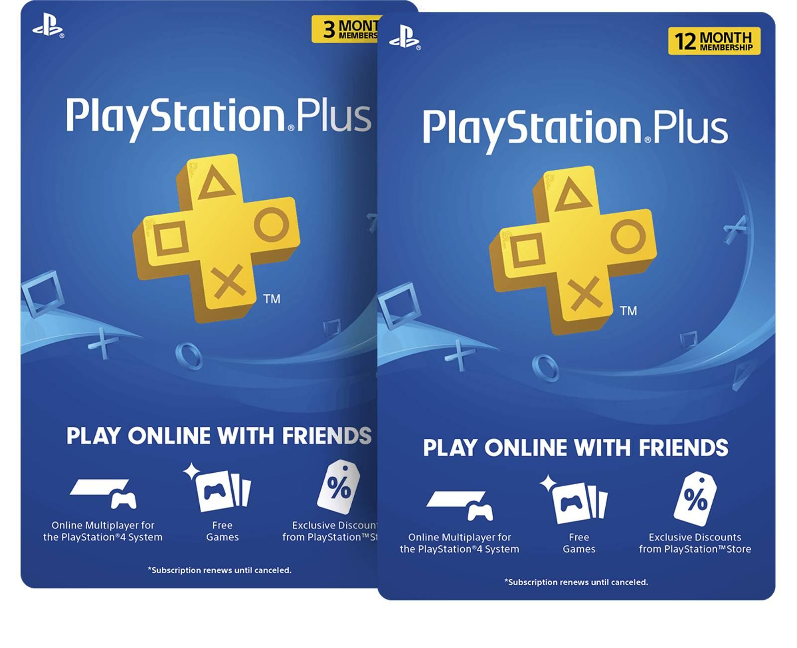Os gift cards do PS Plus oferecem meses de assinatura para quem comprar, sendo uma opção de presente (Fonte: Divulgação/PlayStation)