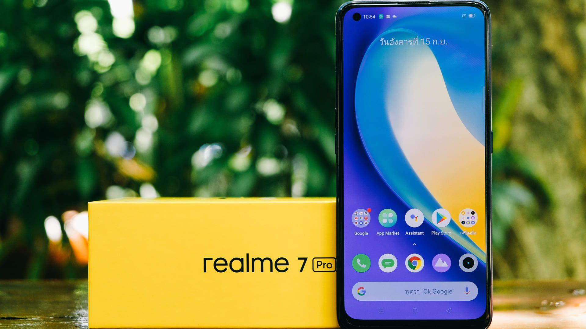 A tela do Realme 7 Pro é a melhor. (Foto: Shutterstock)