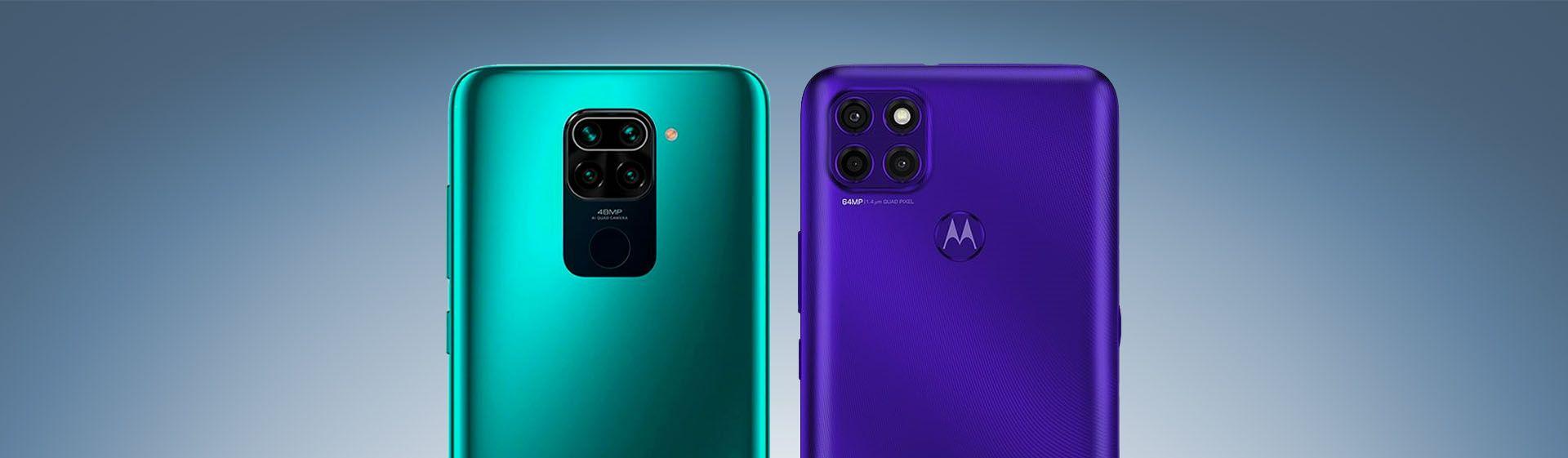 Redmi Note 9 vs Moto G9 Power: comparamos o Xiaomi e o Motorola