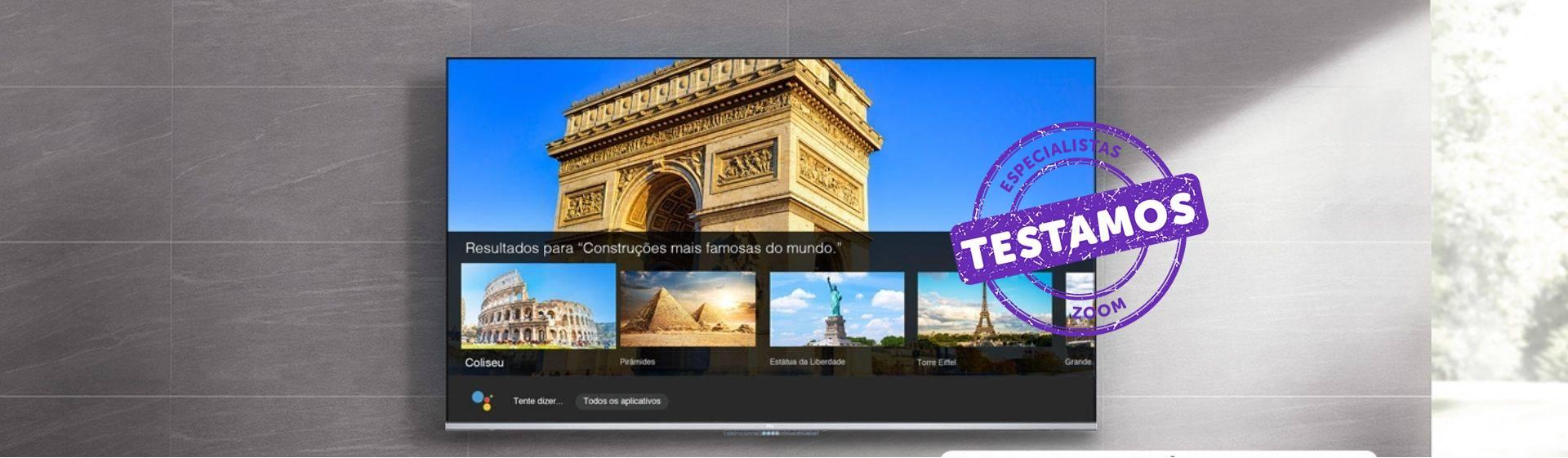TCL P715: TV 4K de entrada com comando de voz