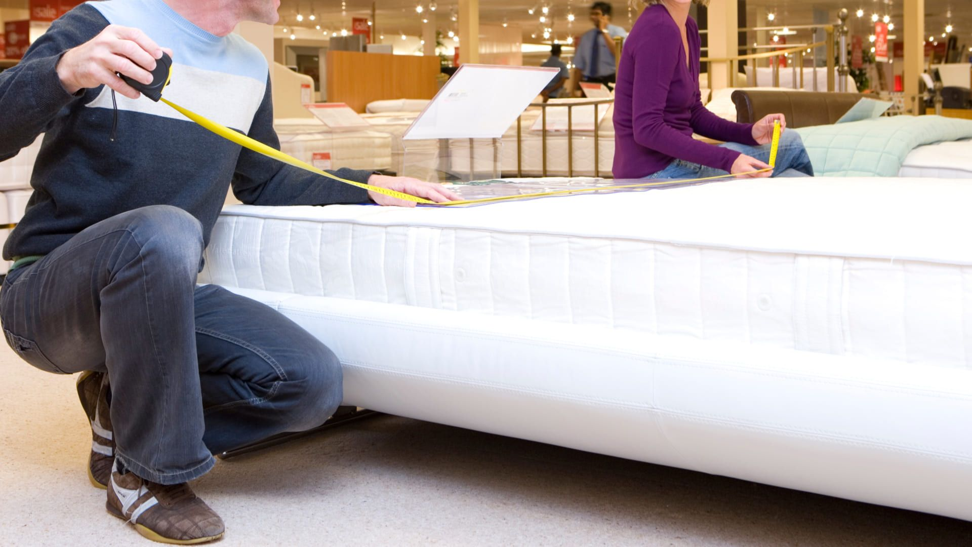 Descubra abaixo as medidas de cama existentes para compra. (Imagem: Reprodução/Shutterstock)