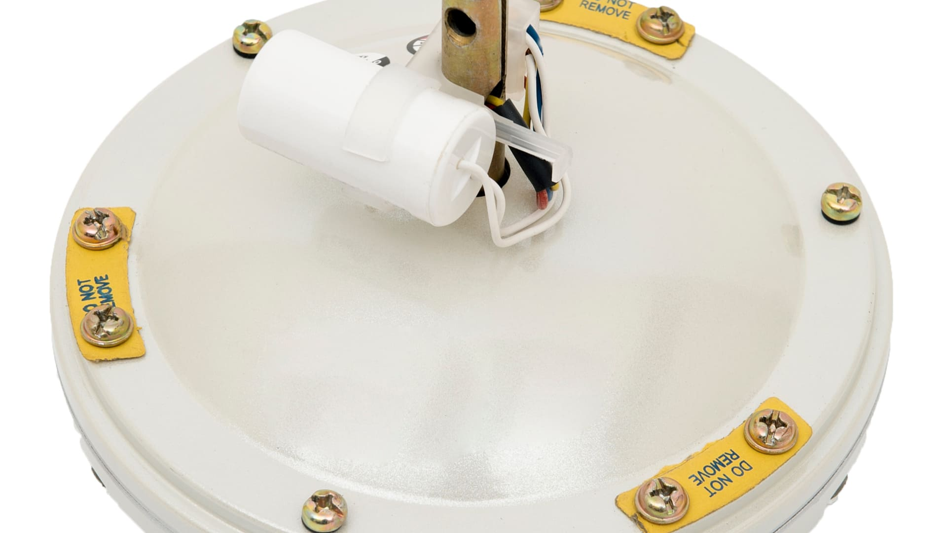 Peça do lustre de um ventilador de teto