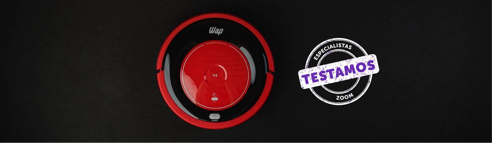 Robô Aspirador Wap Robot W300: ruído baixo e 5 modos de limpeza