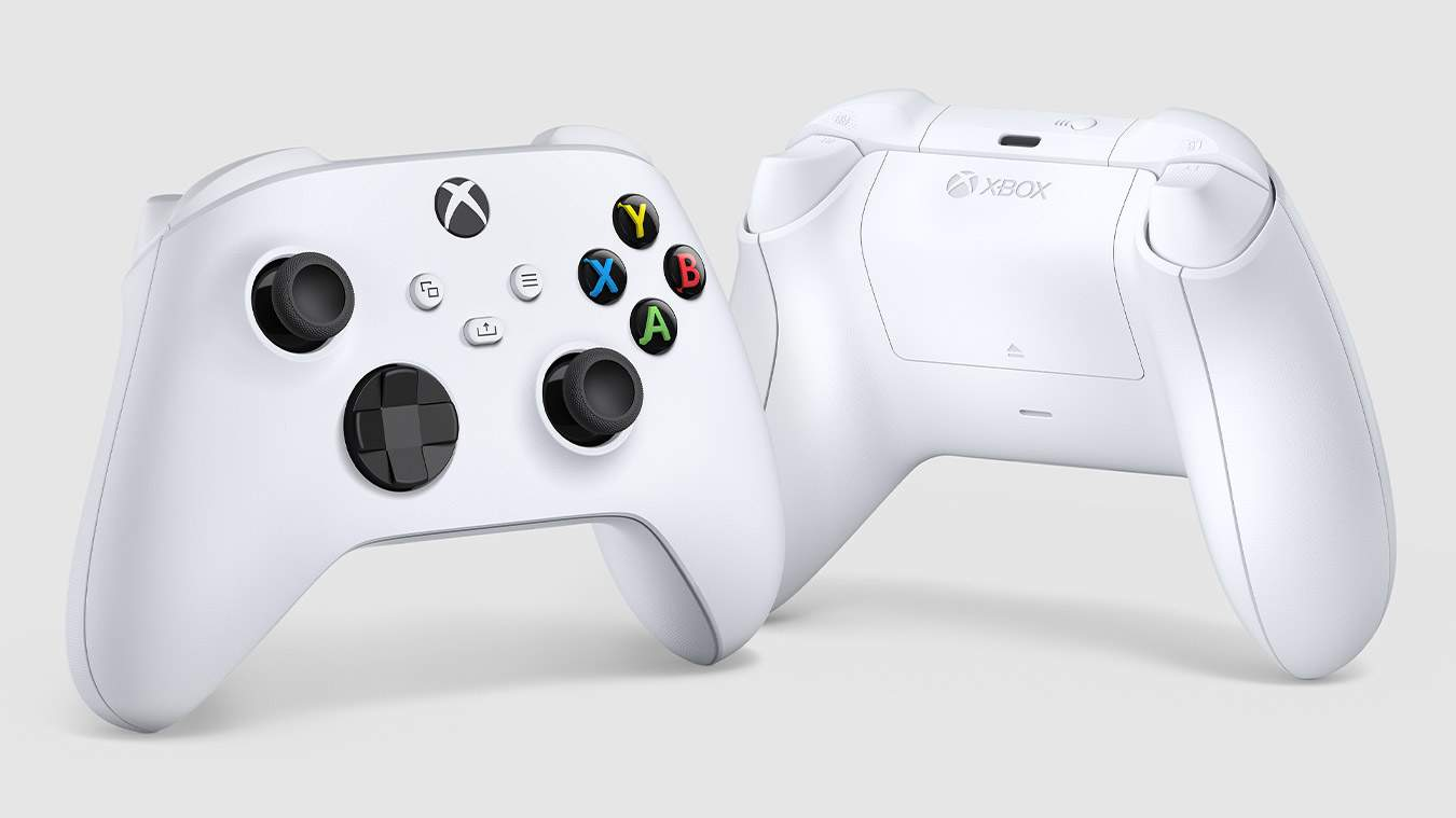 O controle branco do Xbox Series S também funciona no irmão e traz poucas mudanças em relação ao antecessor (Fonte: Divulgação/Xbox)