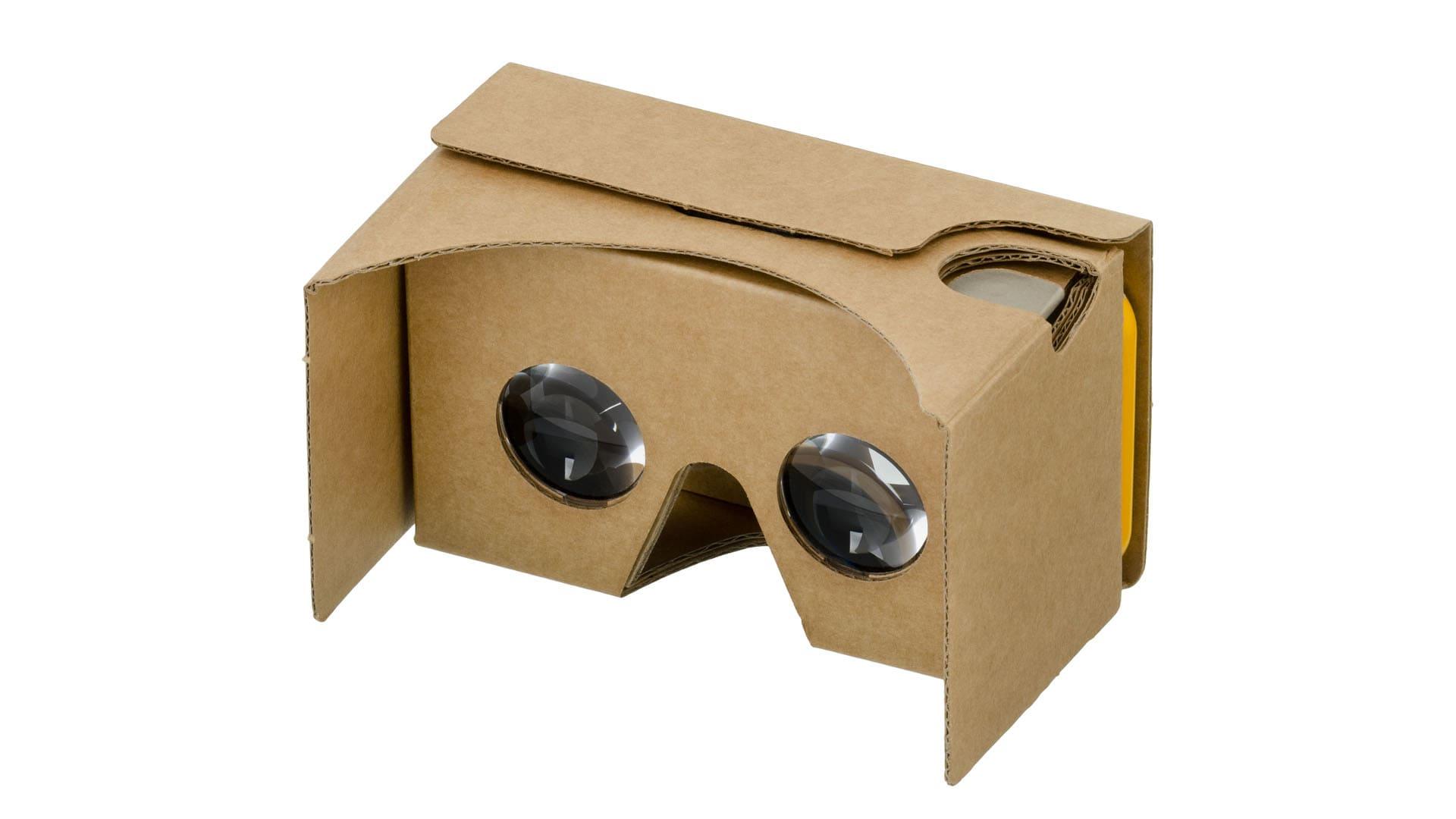 Óculos realidade virtual do Google. (Foto: Divulgação/Google)