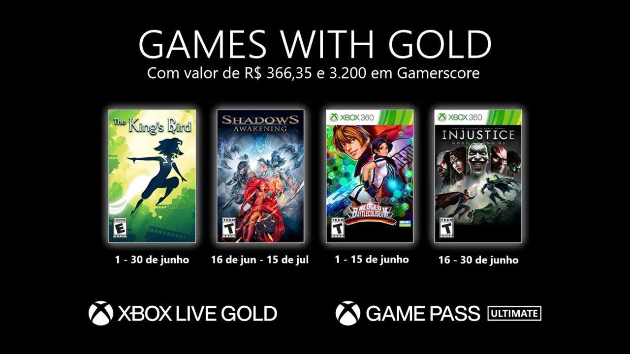 Os Games with Gold de junho de 2021! (Divulgação/Xbox)