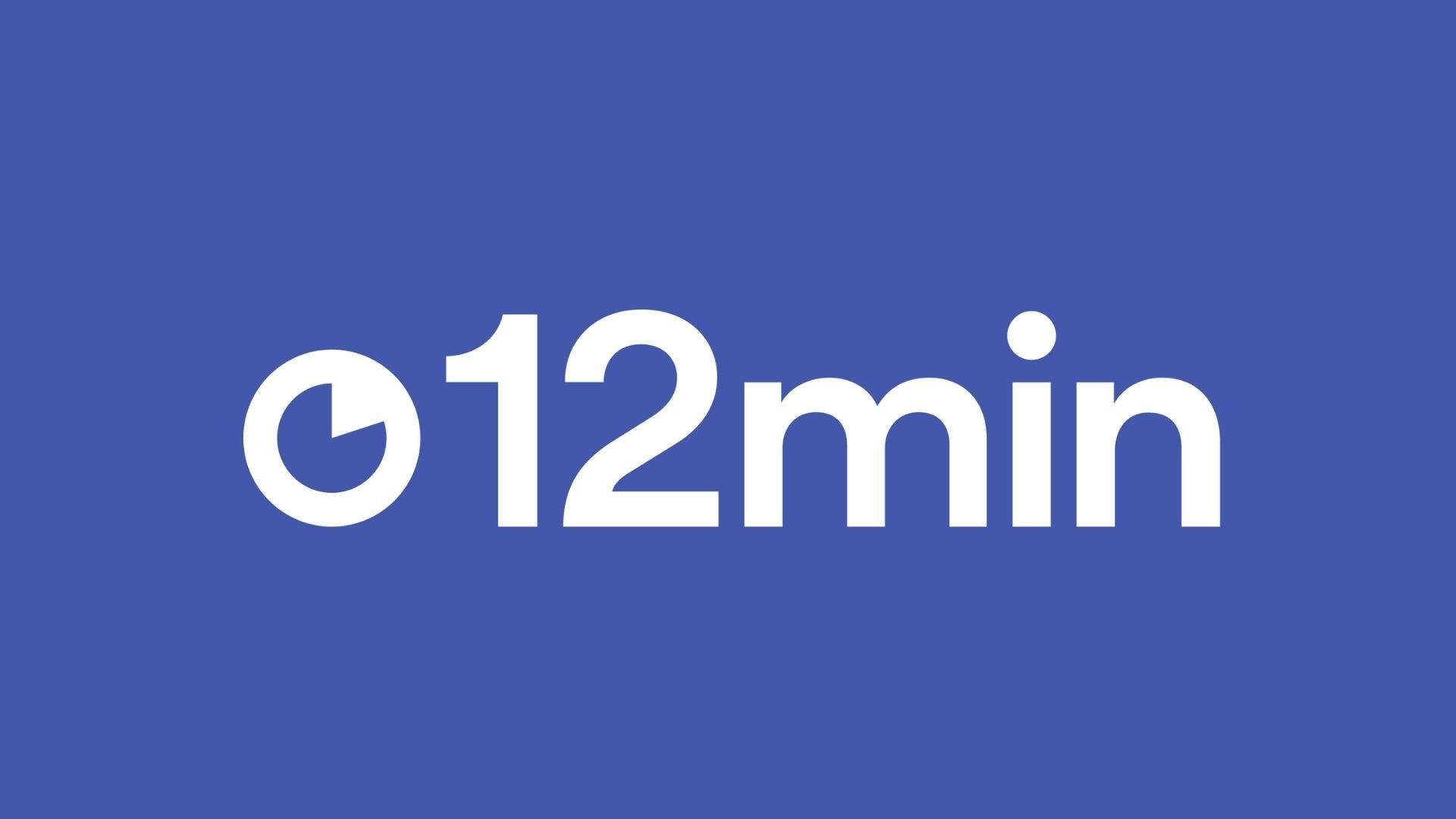 12min é um aplicativo para ouvir Audio Books (Foto: Reprodução)