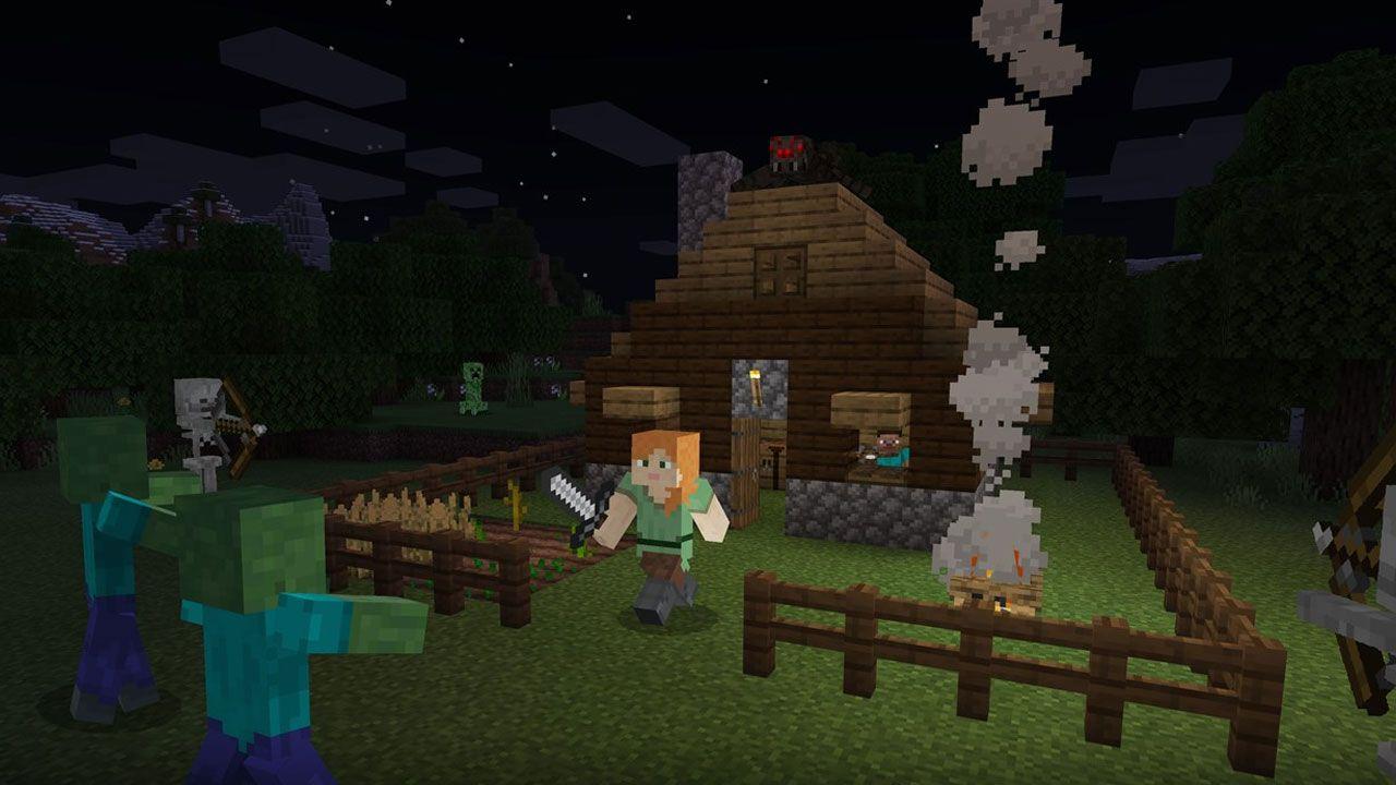 Minecraft é um dos jogos para PC fraco mais amados pelos gamers mundo afora (Reprodução: Xbox Games Store)