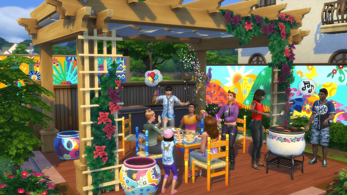 Em The Sims 4, assim como em outros games da franquia, você vive uma segunda vida! É um dos jogos para PC fraco com maior número de expansões (Fonte: EA/Divulgação)