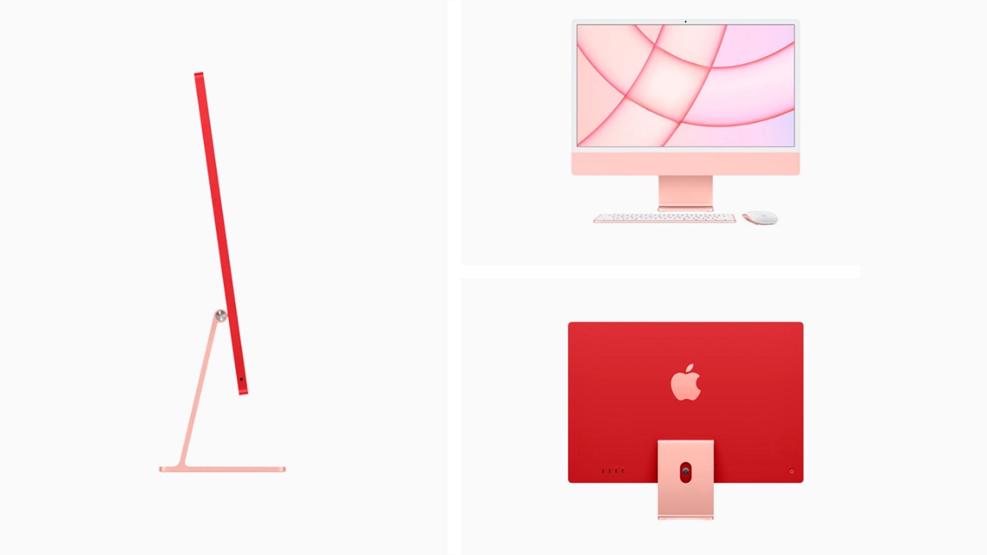 O iMac possui um belo design (Foto: Reprodução/Apple)