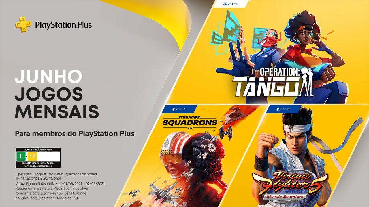 Os jogos grátis da PS Plus em junho de 2021 (Divulgação/Sony)