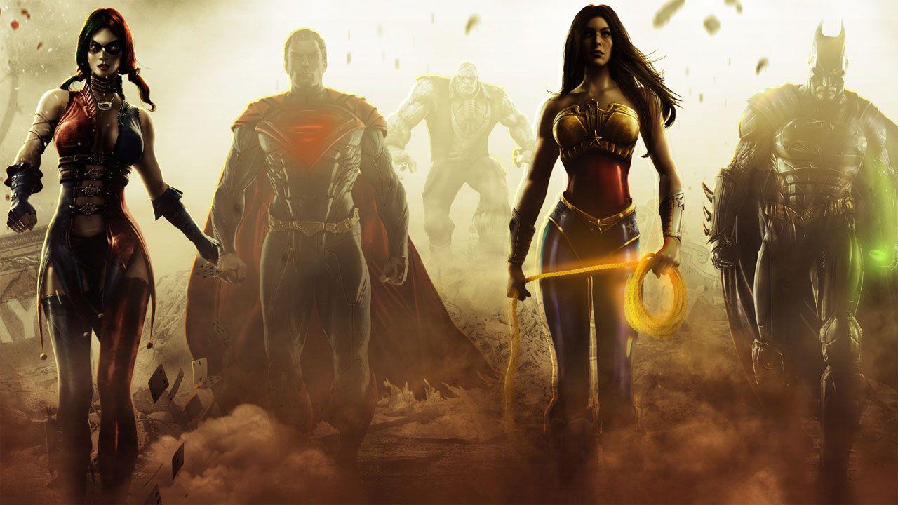 Você poderá curtir um game com uma versão mais sombria da Liga da Justiça (Divulgação/Xbox)
