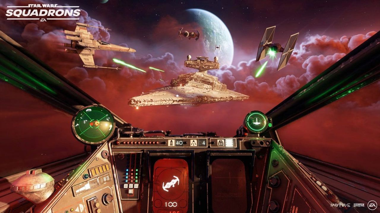 Star Wars Squadrons te coloca no meio das batalhas espaciais da amada franquia do cinema (Divulgação/EA)