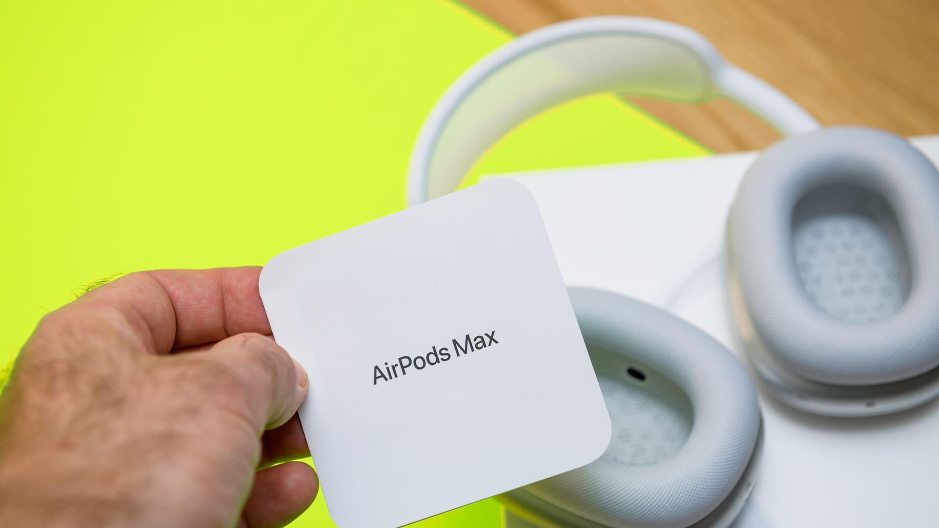 Fone da Apple, AirPods Max. (Foto: Shutterstock)