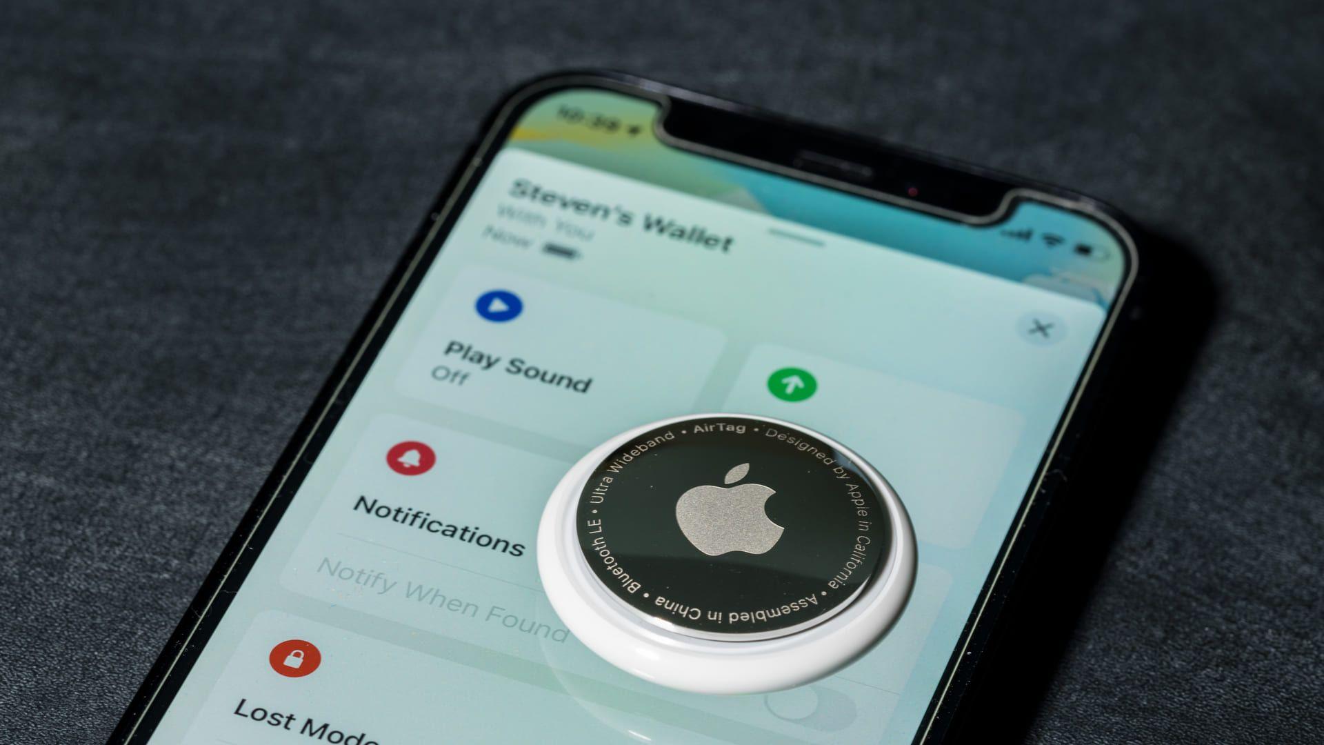 A Apple garante a segurança dos dados da AirTag.
