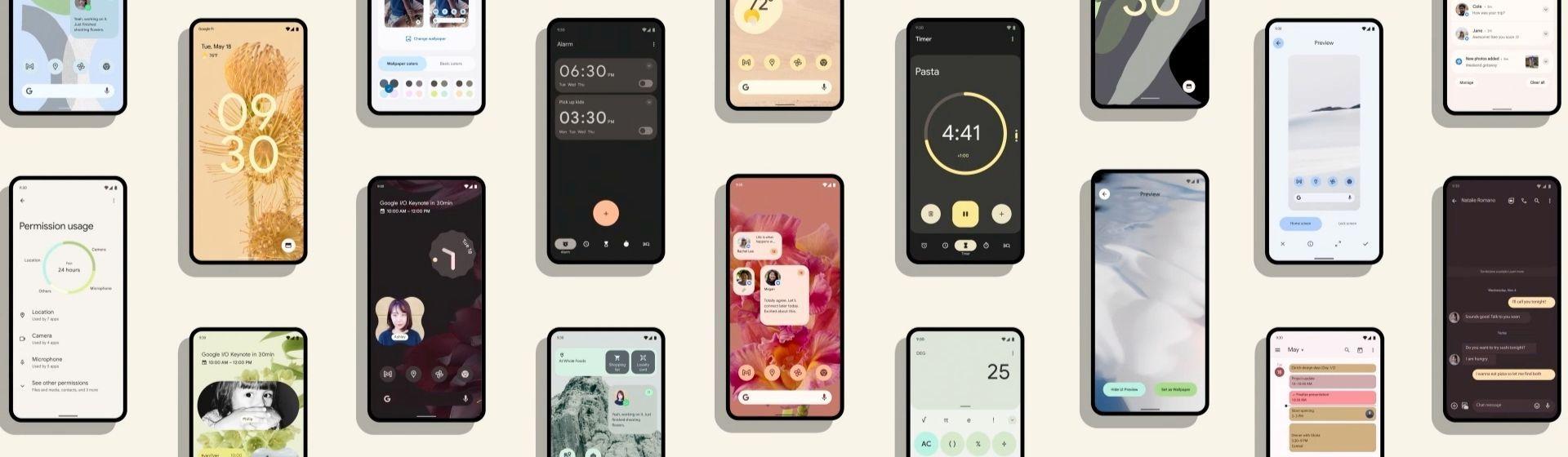 Android 12 ganha mudança no design e recursos de privacidade