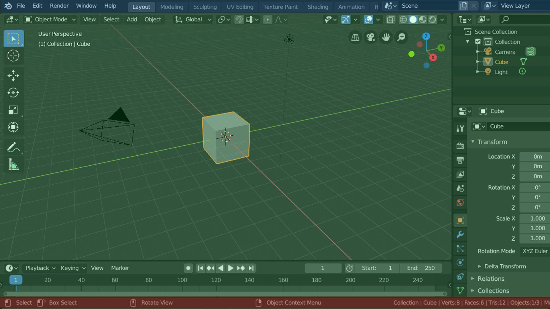 Um editor de vídeo grátis integrado com ferramentas 3D (Fonte: Reprodução)
