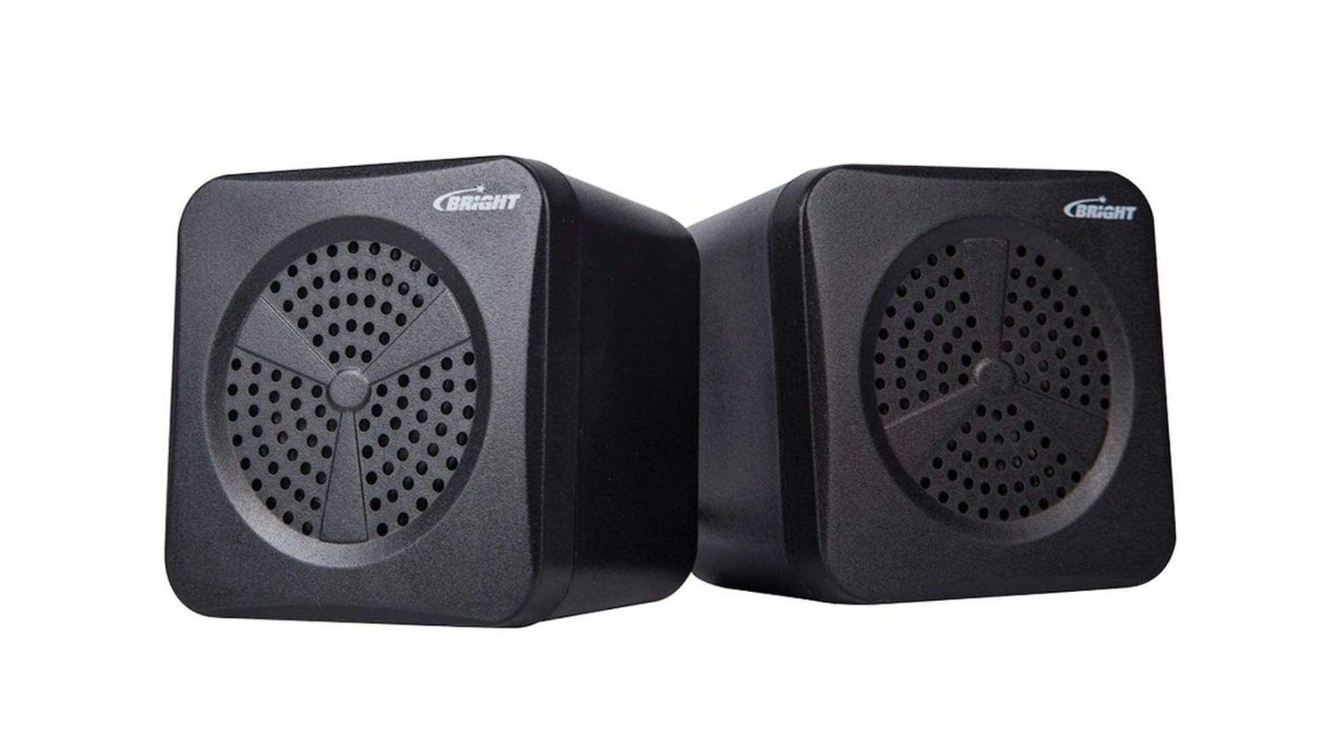 Caixa de som para PC da Bright pode ser uma boa opção (Divulgação / Bright)