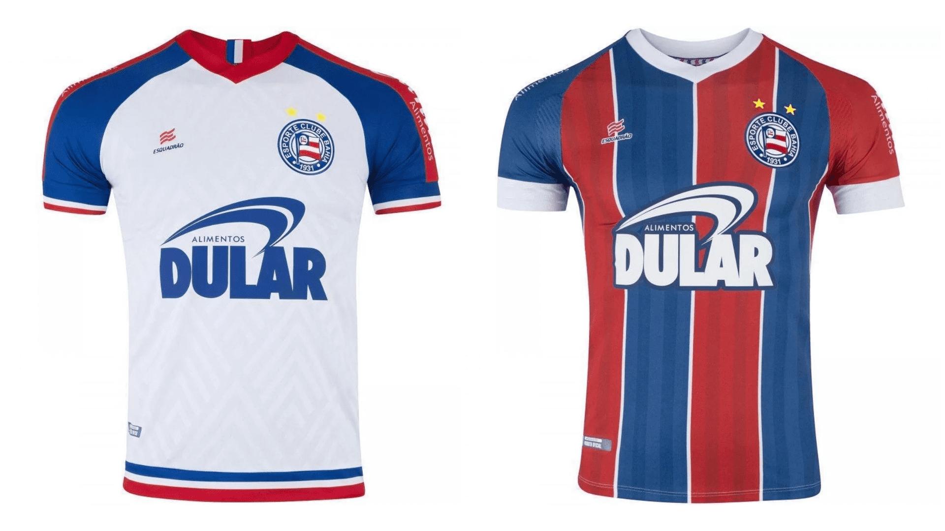 Camisa do Bahia 2019 Esquadrão Jogo 1 e 2 (Imagem: Divulgação/Esquadrão)