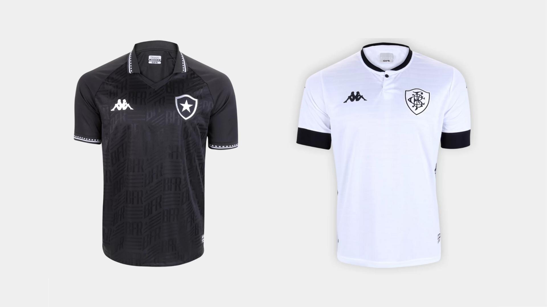 Camisa do Botafogo 2021 Kappa Jogo 2 e 3 (Imagem: Divulgação/Kappa)