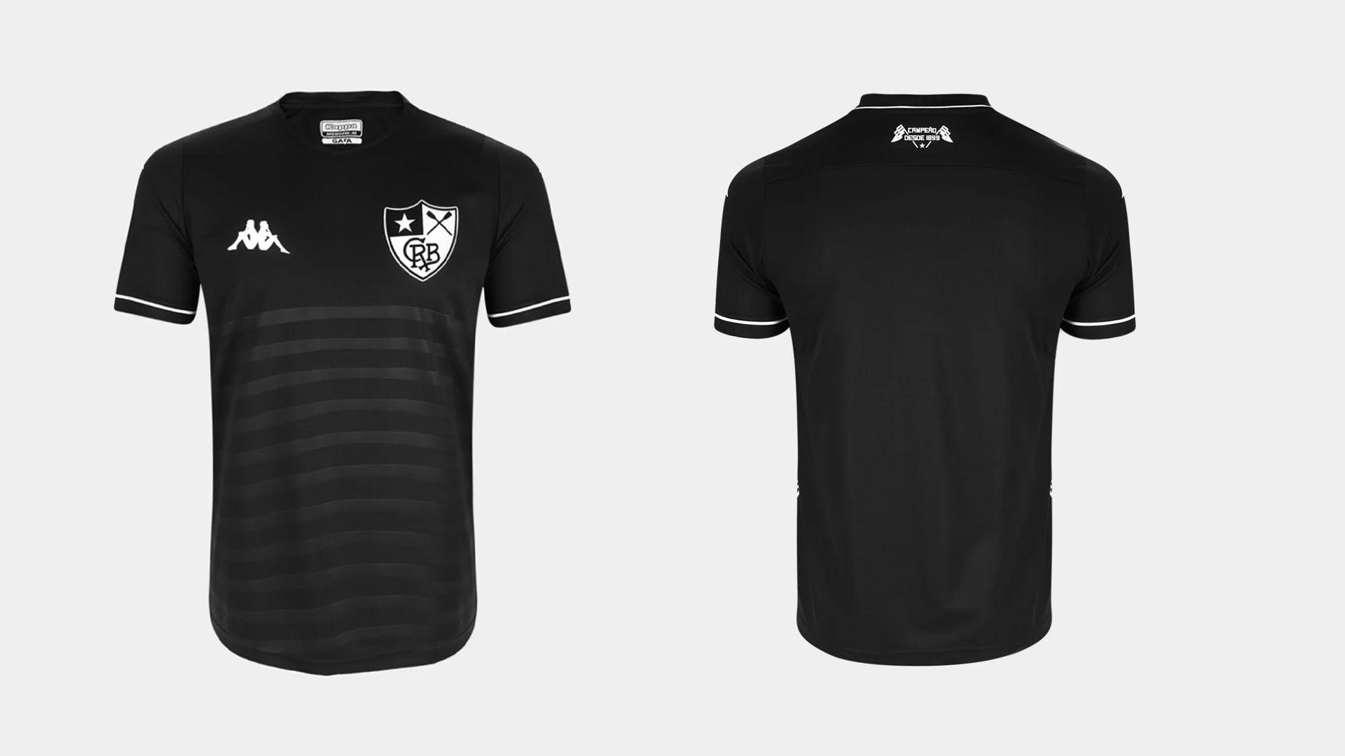 Camisa do Botafogo 2019 Kappa Jogo 2 (Imagem: Divulgação/Kappa)