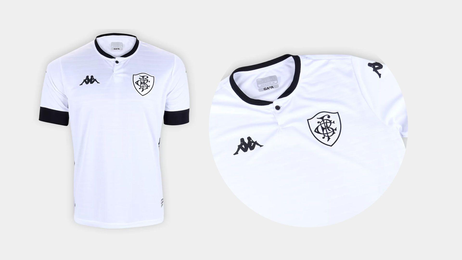Camisa do Botafogo 2021 Kappa Jogo 3 (Imagem: Divulgação/Kappa)